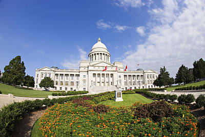 Arkansas State Capitol Building Art Print by Wesley Hitt