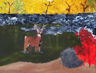 Arkansas Wildlife Art Print by Ashley Anthony