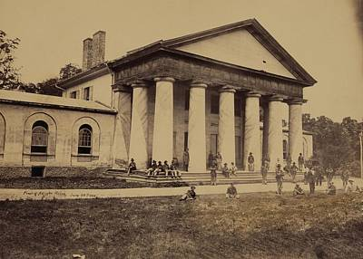 Custis Photograph - Arlington House, Now A National Park by Everett