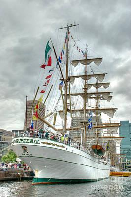Tall Ships Photograph - Arm Cuauhtemoc 2 by Mark Dodd