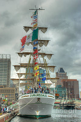 Tall Ships Photograph - Arm Cuauhtemoc by Mark Dodd