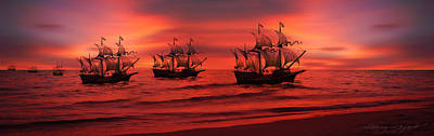 Photograph - Armada by Lourry Legarde