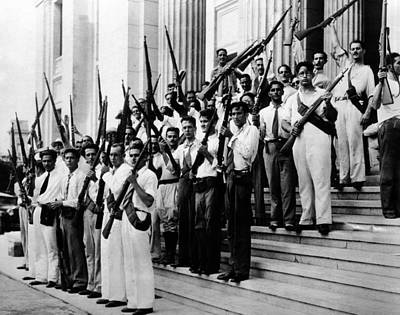 Armed Students At The University Print by Everett