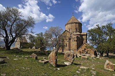 Photograph - Armenian Church On Adkamar Island by Michele Burgess