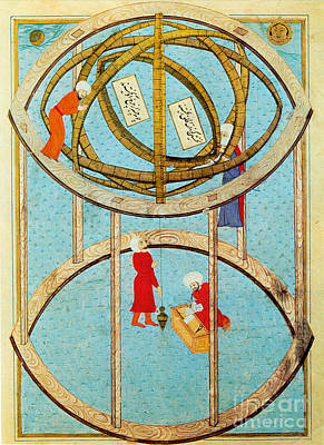 Seventeenth Century Photograph - Armillary Sphere by Science Source