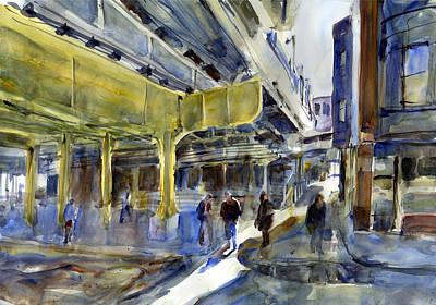 Armitage L Station Art Print by Gordon France