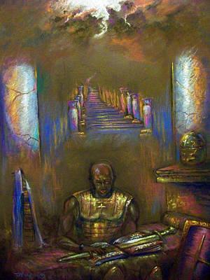 Armor Of God Art Print by Tommy  Winn