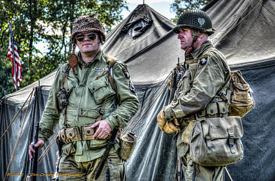Photograph - Army Life by Dan Crosby