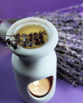 Oil Burner Photograph - Aromatherapy by Lawrence Lawry
