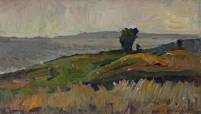 Painting - Around 8 Pm by Juliya Zhukova