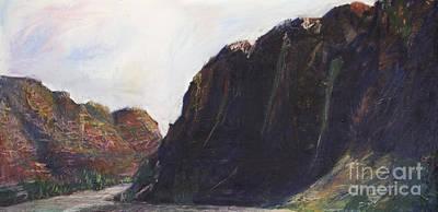 Painting - Around The Ridge  by Richard Fritz