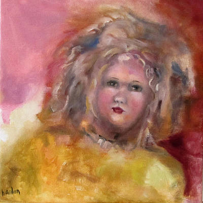 Painting - Arranbee Nancy Lee Doll by Susan Hanlon