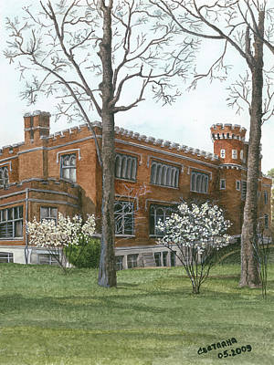 Painting - Arrival Of Spring At Culver by Svetlana  Jenkins