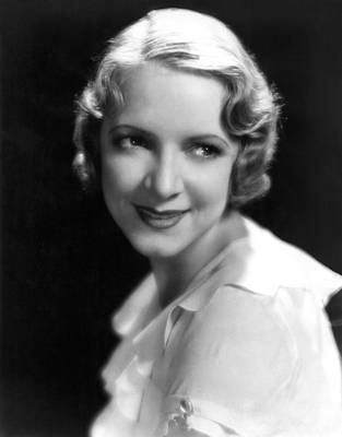 1931 Movies Photograph - Arrowsmith, Helen Hayes, 1931 by Everett