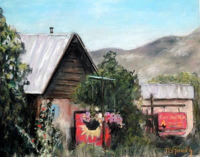 Pastel Landscape Pastel - Arroya Seco by John De Young