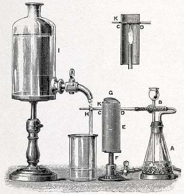 Arsenic Detection, 19th Century Artwork Art Print by Middle Temple Library