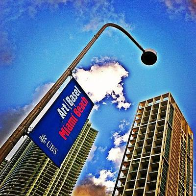 Skyline Wall Art - Photograph - Art Basel Miami Beach by Joel Lopez