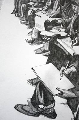 Art Class In Afghanistan Art Print