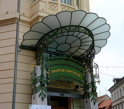 Photograph - Art Deco In Ljubljana No. 2 by Carla Parris