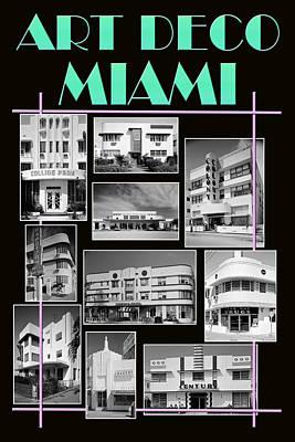 Photograph - Art Deco Miami by Andrew Fare