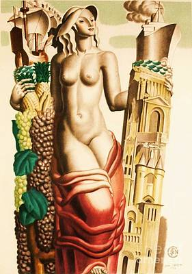 Advertisment Painting - Art Deco by Roberto Prusso