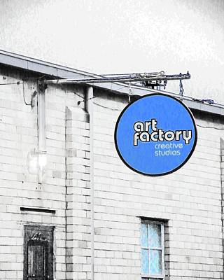 Digital Art - Art Factory by Lizi Beard-Ward