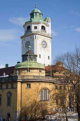 Germany Photograph - Art Nouveau Architecture Of Volksbad by Andrew  Michael