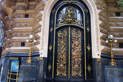 Photograph - Art Nouveau In Buenos Aires by Andrei Fried