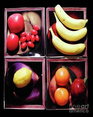 Digital Art - Art Of Fruit by Lizi Beard-Ward