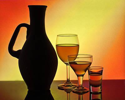 Art Of Wine Glass-2 Original