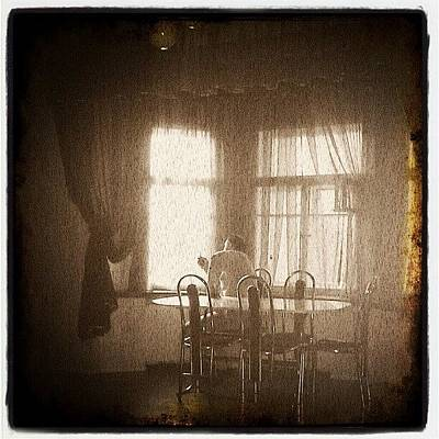 Horror Wall Art - Photograph - #art, #old, #oldphoto, #room, #home by Max Deviantrex