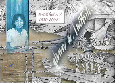 Digital Art - Art Photos 1980-02 by Glenn Bautista