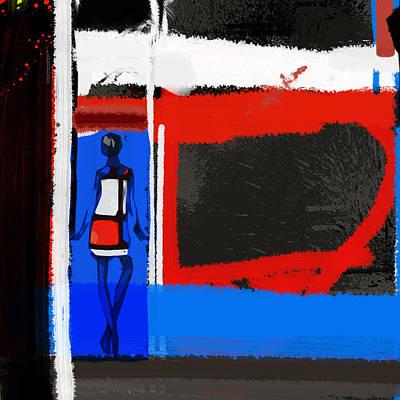 Art Scene Art Print by Naxart Studio