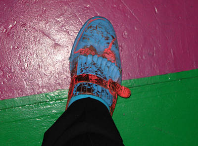 Photograph - Art Show Shoes by Kevin Callahan