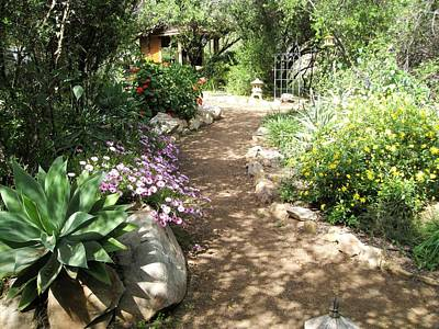 Ojai Wall Art - Photograph - Art Studio Pathway by Sue Halstenberg