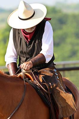 Photograph - Artful Cowboy by Elizabeth Hart