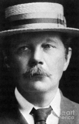 Arthur Conan Doyle, Scottish Author Art Print by Science Source