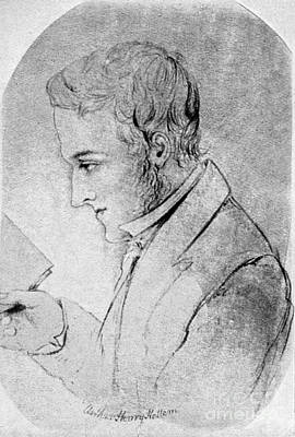 Arthur Henry Hallam Art Print by Granger