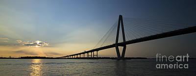 Ravenel Photograph - Arthur Ravenel Jr Bridge Over The Cooper River Charleston Sc by Dustin K Ryan