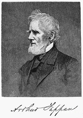 Abolition Photograph - Arthur Tappan (1786-1865) by Granger