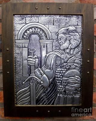 Arthur The King Original by Cacaio Tavares