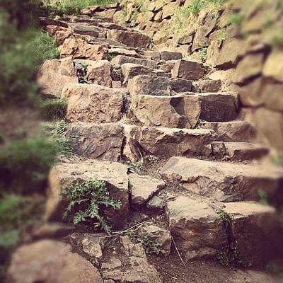 Pathway Photograph - #arthursseat #scotland #edinburgh by Kim Balevre