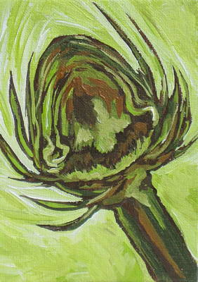 Artichoke Original by Sandy Tracey