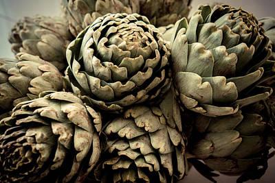 Artichokes Bouquet Art Print by Eyes' Fun