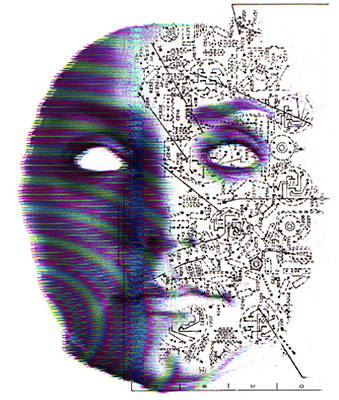 Artificial Intelligence Art Print by Neal Grundy