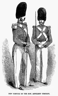 Artillery Company, 1855 Art Print by Granger