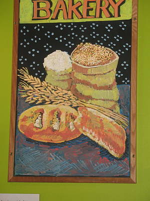 Pastel - Artisan Bread by Doris  Lane Grey