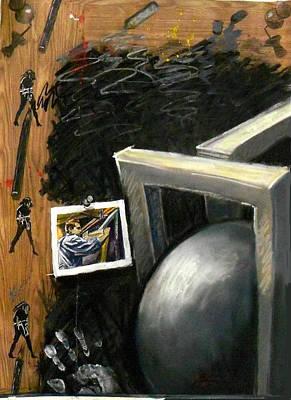 Integral Mixed Media - Artist In His Studio II by Elio Lopez