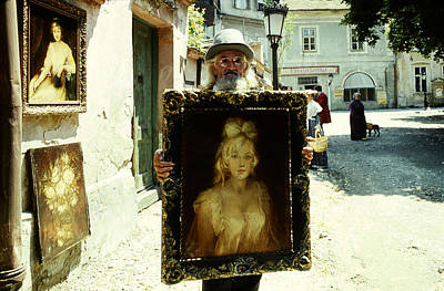 Photograph - Artist On The Street by Emanuel Tanjala
