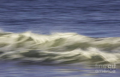 Art Print featuring the photograph Artistic Wave by Betty Denise